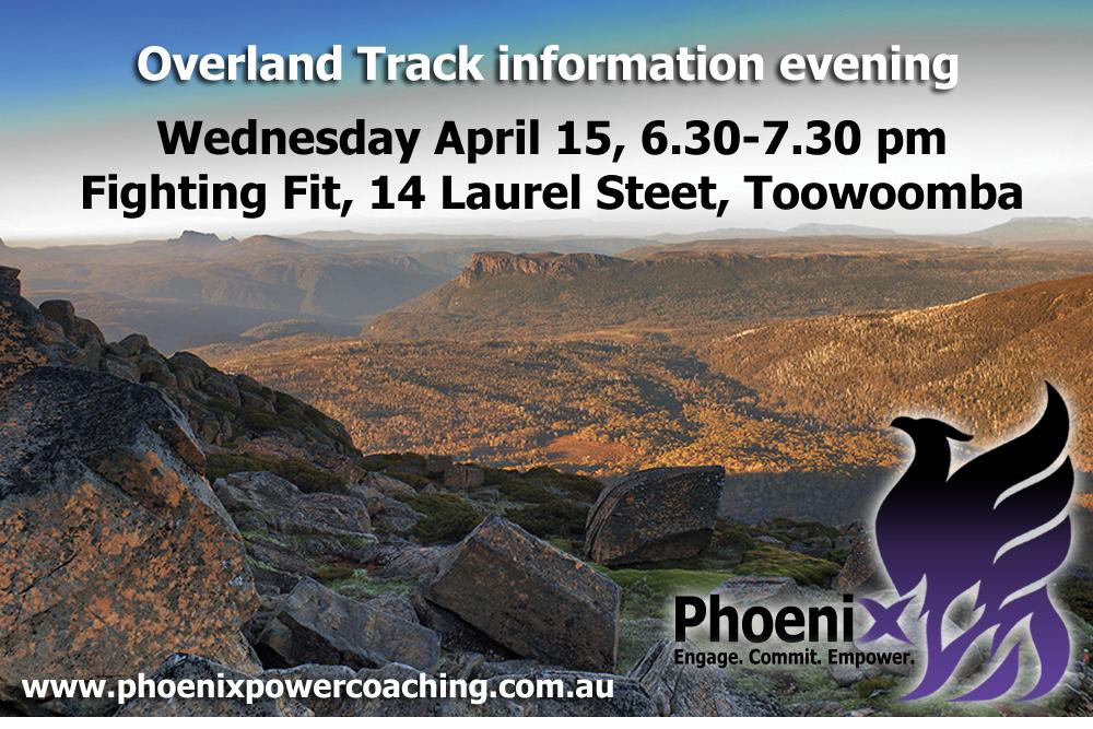 Overland Track information evening